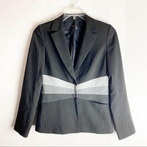BCBGMAXAZRIA Black Career Blazer Jacket 6
